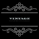 Vintage jewelry background Stock Image