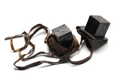Vintage jewish tefillin Royalty Free Stock Images
