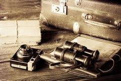 Vintage journey equipment Royalty Free Stock Image
