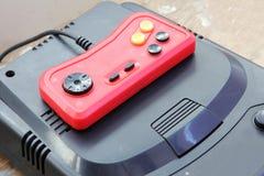 Vintage joystick with atari Stock Image