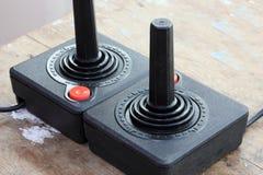 Vintage joystick Stock Photo