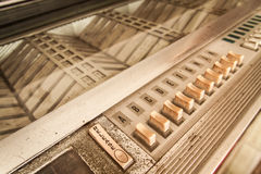 Vintage Jukebox Stock Image