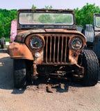 Vintage Junker 4 x 4 truck Stock Photo