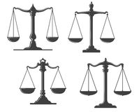 Vintage justice scales Royalty Free Stock Photo