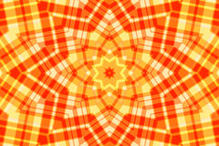Vintage kaleidoscope design. As canvas background Royalty Free Stock Photography