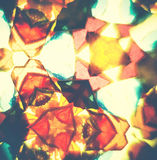 Vintage kaleidoscope pattern Stock Photo