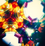 Vintage kaleidoscope pattern Royalty Free Stock Photo