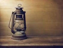 Vintage kerosene lamp Stock Image