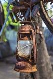 Vintage Kerosene Lamp Royalty Free Stock Photography