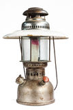 Vintage kerosene oil lantern lamp on isolate Background Stock Image