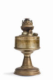 Vintage kerosene oil lantern lamp on isolate Background Stock Photo