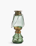 Vintage kerosene oil lantern lamp on isolate Background Royalty Free Stock Photography