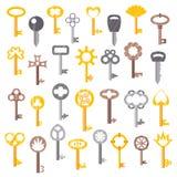 Vintage key   icon Stock Photos