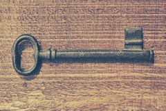 Vintage key Royalty Free Stock Images