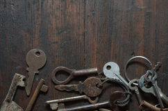 Vintage key Stock Photography