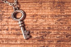Vintage key Stock Photo