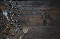 Vintage key Royalty Free Stock Photo