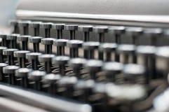 Vintage keyboard Stock Images
