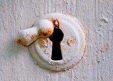 Vintage keyhole Stock Images