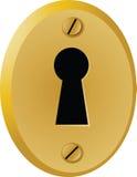 Vintage keyhole Royalty Free Stock Images
