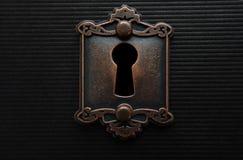 Vintage keyhole Stock Photography