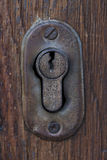Vintage keyhole Stock Photos