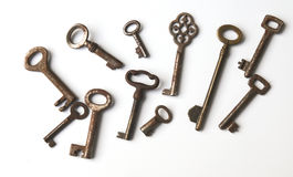 Vintage keys Stock Photography