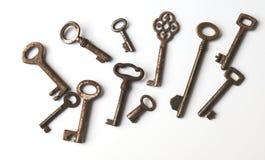 Vintage keys Stock Photography