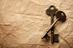Vintage keys Royalty Free Stock Photography