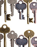 Vintage keys Stock Images