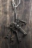 Vintage keys Stock Photos