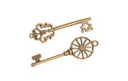 Vintage Keys Stock Images
