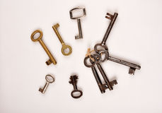 Vintage keys Royalty Free Stock Photos