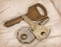 Vintage keys Royalty Free Stock Image