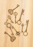 Vintage keys Royalty Free Stock Photo