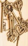 Vintage keys Stock Image
