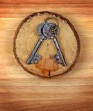 Vintage Keys Stock Photo