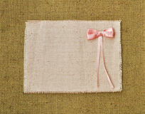 Vintage kiddy frame border canvas background Stock Photography