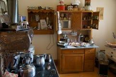 Vintage Kitchen Alaska Highway Stock Images