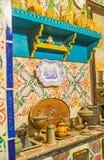 Vintage kitchen of Dar Essid mansion in Sousse Stock Photos