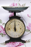 Vintage Kitchen Scales Royalty Free Stock Photo