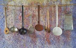 Vintage kitchen tools Stock Image
