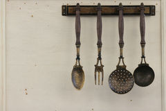 Free Vintage Kitchen Utensils Stock Photo - 36147070