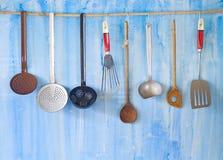Vintage kitchen utensils, Stock Photos
