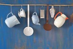 Vintage kitchen utensils, stock images