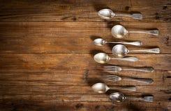 Vintage kitchen utensils. Stock Images