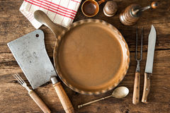 Vintage kitchen utensils Stock Image