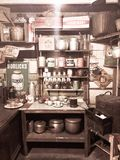 Vintage kitchen royalty free stock photography