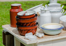 Vintage Kitchenware Royalty Free Stock Images