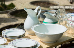 Vintage Kitchenware Stock Photo